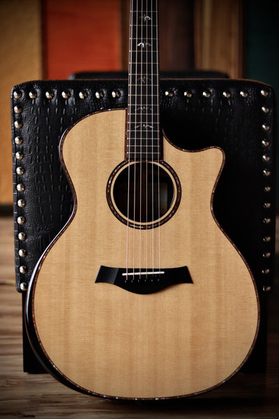 Taylor 914ce - Rosewood Back and Sides with V-class Bracing Acoustic Guitar Guitars Usa