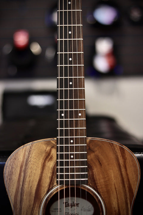 Taylor GS Mini-e Koa Acoustic-Electric Guitar - Natural Acoustic Guitar Taylor