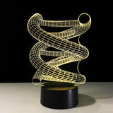 led 3D | Spirale - Illusion - Maneon