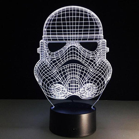 Lampe 3D Star Wars Stormtrooper