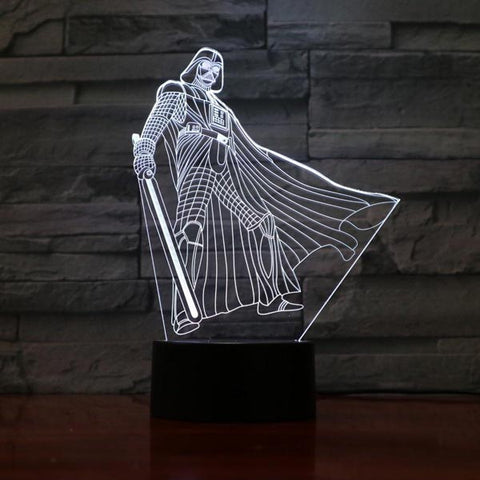 Lampe 3D Star wars Dark Vador