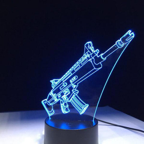 lampe 3d fortnite scarl