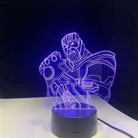 Lampe 3D Thanos