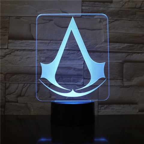 Lampe 3D |  Assassin's creed - Maneon