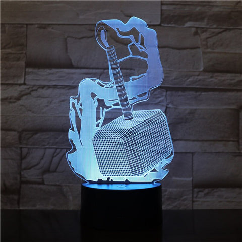 lampe 3D Thor