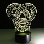 Lampe led illusion