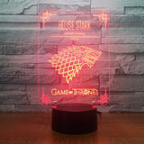 Décoration 3D | Stark - Game of Thrones - Maneon