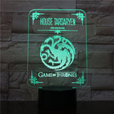 Veilleuse | Targaryen - Game of Thrones - Maneon