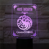 Décoration 3D | Targaryen - Game of Thrones - Maneon