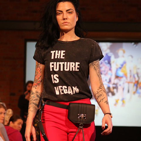'The future is vegan' tee Women's