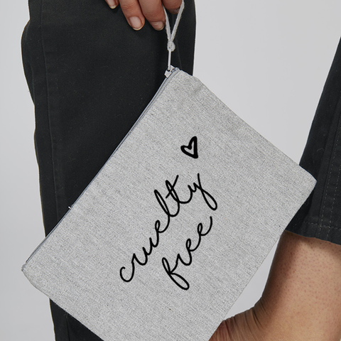 Small 'Cruelty Free' bag
