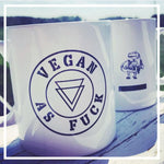 'Vegan as fuck' mug