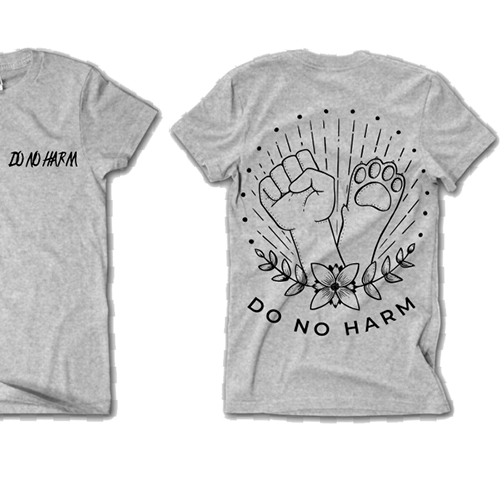 'Do No Harm' tee Women's