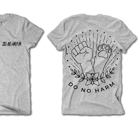 'Do No Harm' tee Men's