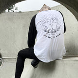 'Do No Harm' raglan shirt- unisex