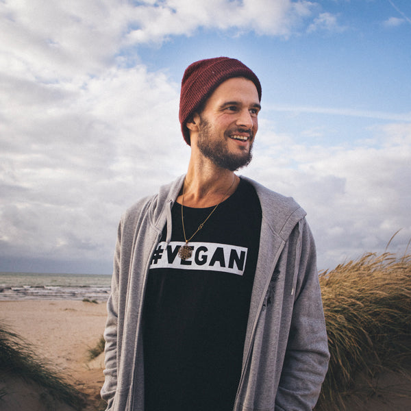 Men's '#vegan' tee