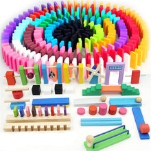 Load image into Gallery viewer, 120 Pcs/set Wooden Domino Montessori Educational Toys for Children