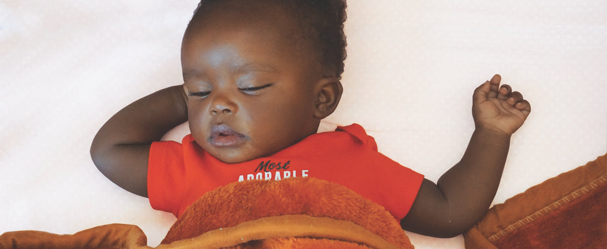 Asher baby, Blessing, sponsored by Asher products