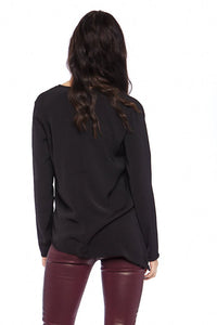 Mary Wrap Blouse