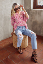Load image into Gallery viewer, Halli Floral Blouse