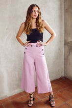 Load image into Gallery viewer, Cooper Button Detail Wide Leg Pant