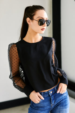 Milan Puff Sleeve Top