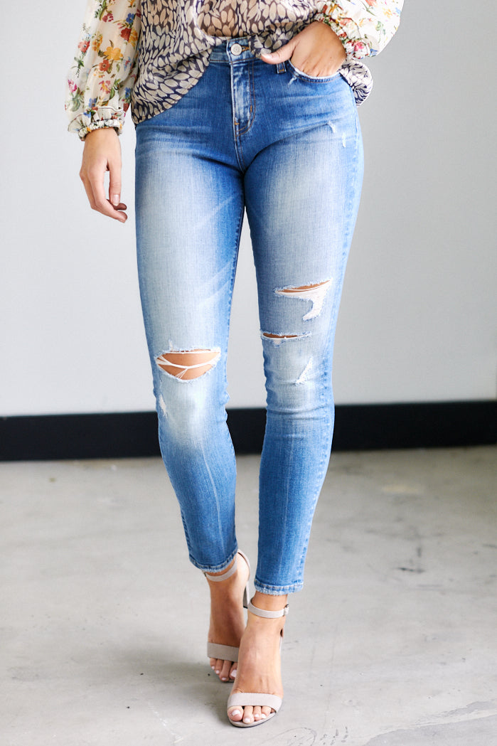 fab'rik - Vida Distressed Skinny Jeans ProductImage-13627308507194