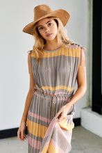 Load image into Gallery viewer, Cleo Striped Maxi Dress
