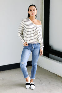 Westin Stripe Long Sleeve Tee