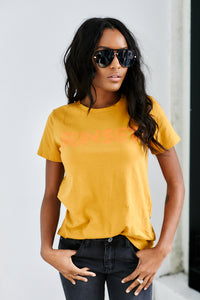 fab'rik - Sunset Graphic Tee ProductImage-13626435272762