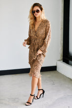 Load image into Gallery viewer, Campbell Cheetah Print Midi Dress