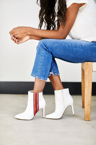 Pledge Track Stripe Bootie