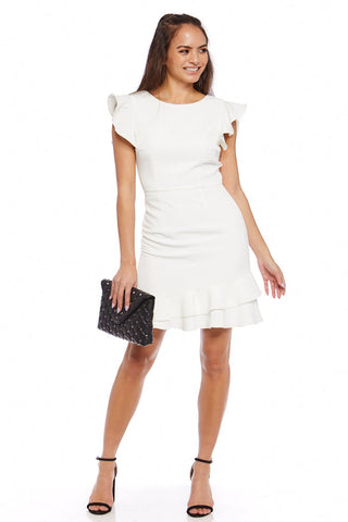 Olivia Ruffle Mini Dress