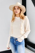 Load image into Gallery viewer, SALE - Finley Ruffle Detail Sweater