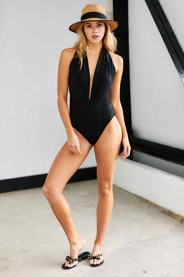 Cambria Deep V One Piece