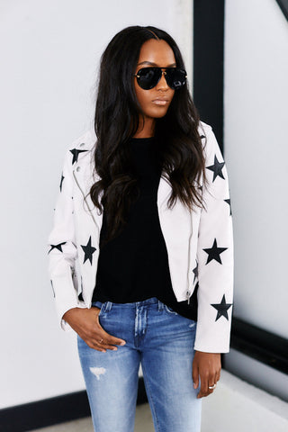 Blank NYC Kick Off Star Jacket