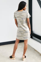 Load image into Gallery viewer, Z Supply Camo Split Neck Dress