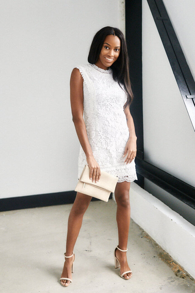 Marissa Sleeveless Lace Dress
