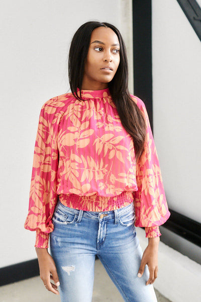 fab'rik - April Printed Long Sleeve Top image thumbnail