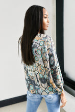 Load image into Gallery viewer, Lawson Tribal Print Blouse