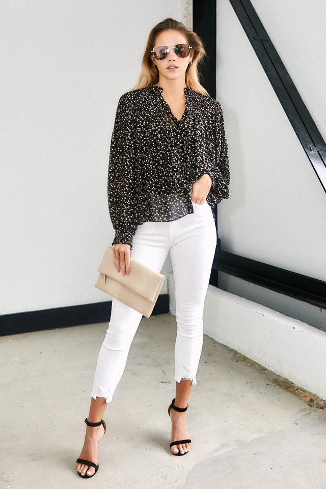 Tyler Floral Print Blouse