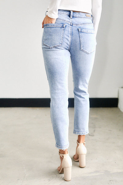 fab'rik - Blank NYC On The Edge Straight Leg Jeans image thumbnail