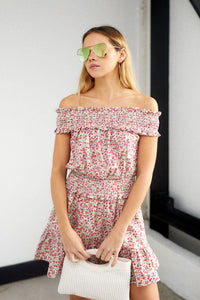 fab'rik - Myla Off Shoulder Floral Print Dress ProductImage-13657543901242