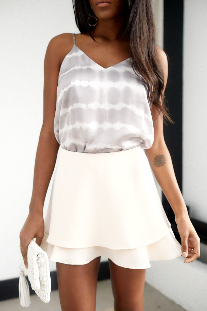 fab'rik - Grelyn Double Layer Skort ProductImage-13657829933114