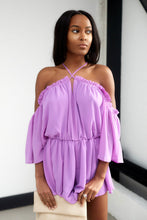 Load image into Gallery viewer, Kinley Cold Shoulder Romper