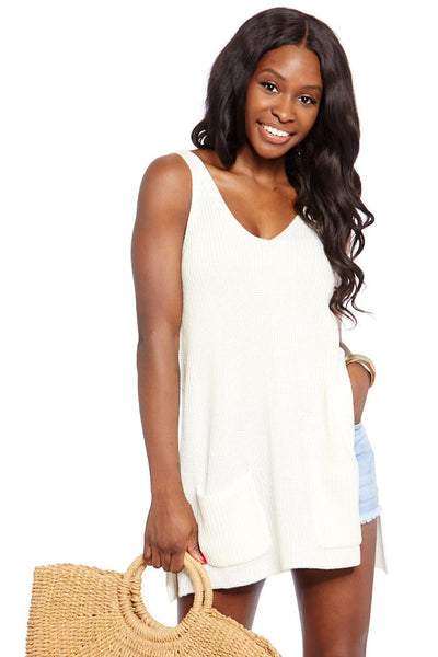 fab'rik - Jack by BB Dakota Sweater This Way Knit Tank image thumbnail