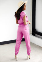 Load image into Gallery viewer, Echo Short Sleeve Jumpsuit