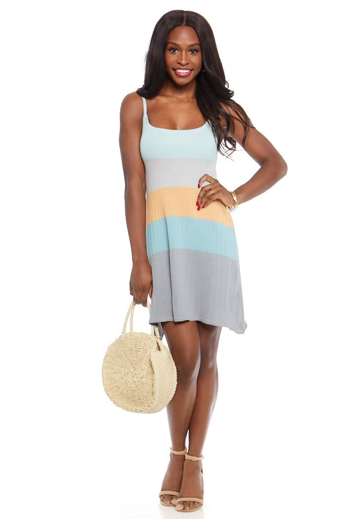 fab'rik - Kelly Knit Color Block Dress ProductImage-7583514198074