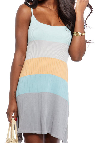 fab'rik - Kelly Knit Color Block Dress image thumbnail