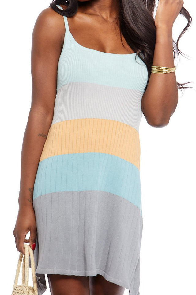 Kelly Knit Color Block Dress